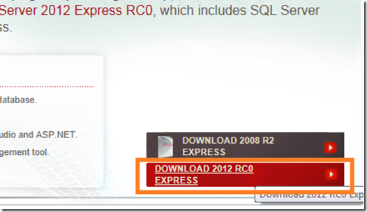 sql server 2012 express edition download